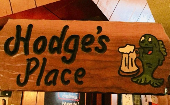 Hodge's Place Sign