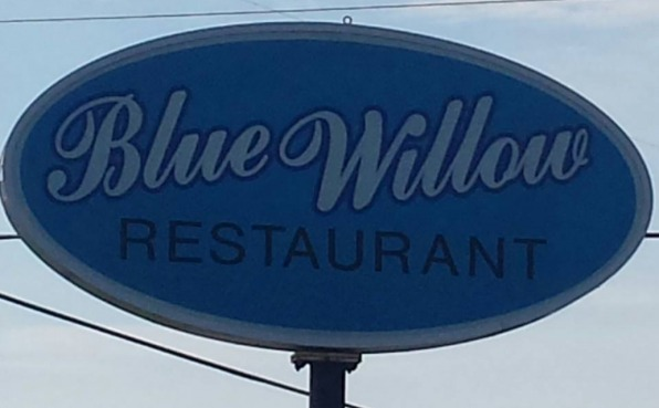 Blue Willow Sign