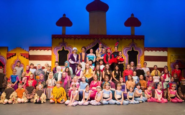 Central Wisconsin Children's Theater in Aladdin