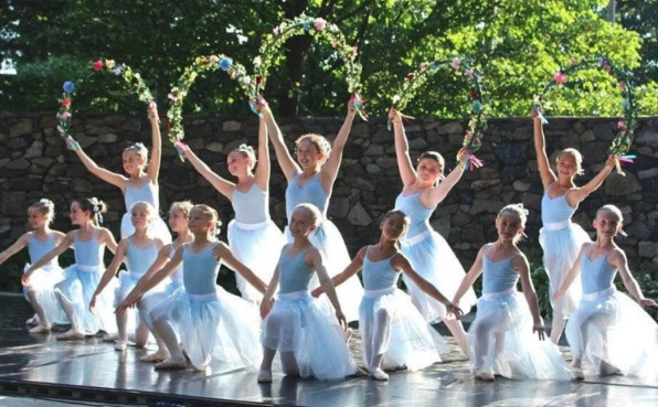 Wausau Dance Theatre - Young female ballerinas