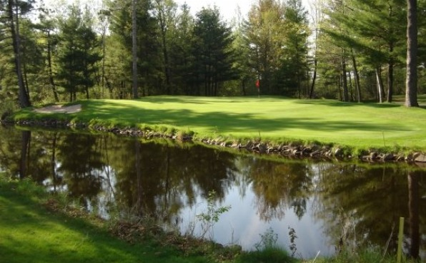 Wausau Country Club water hole