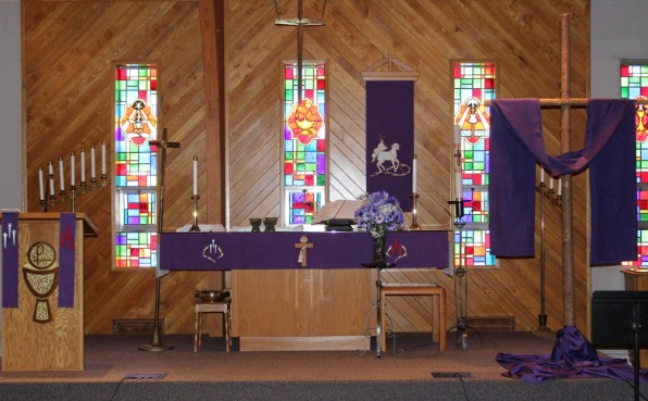 Mount Calvary Lutheran Church Rothschild Altar