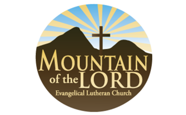 Mountain of the Lord Evangelical Lutheran Church Logo