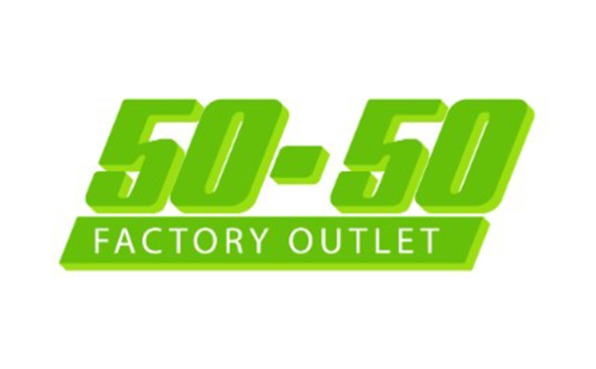 50-50 Factory Outlet Logo