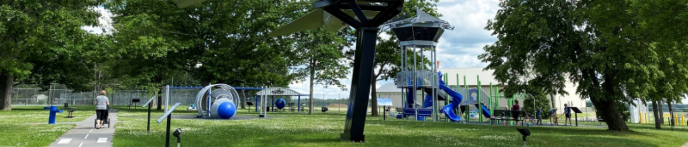 Alexander Park Playground and Old War Plane