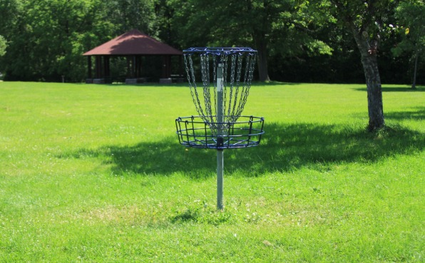 Memorial Park - Disc Golf Course