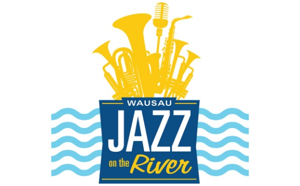 Wausau Jazz on the River logo