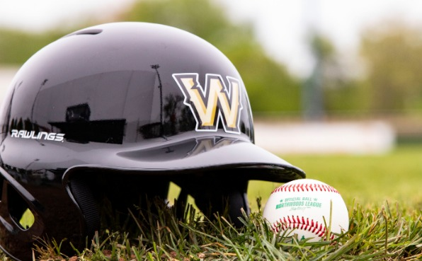 Wisconsin Woodchucks Baseball Helmet